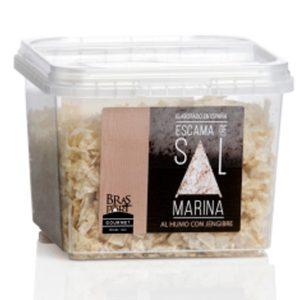 Escama de sal marina española AL HUMO CON JENGIBRE 150g